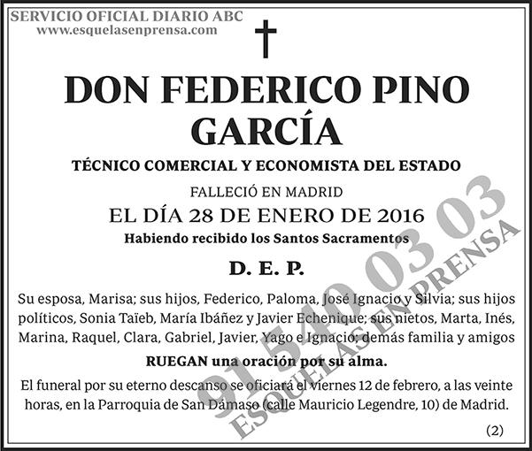 Federico Pino García